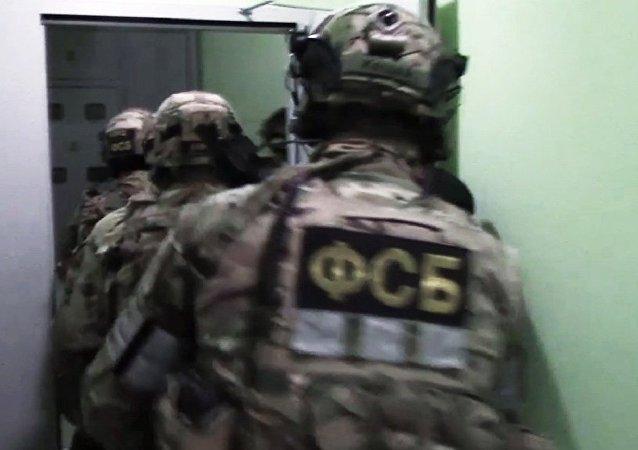 2017年俄联邦安全局挫败23起恐怖袭击