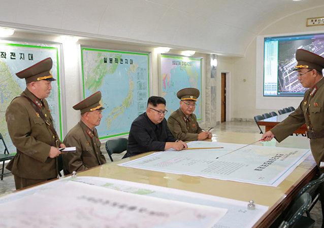 媒体:金正恩非常满意8月2日导弹试射成果