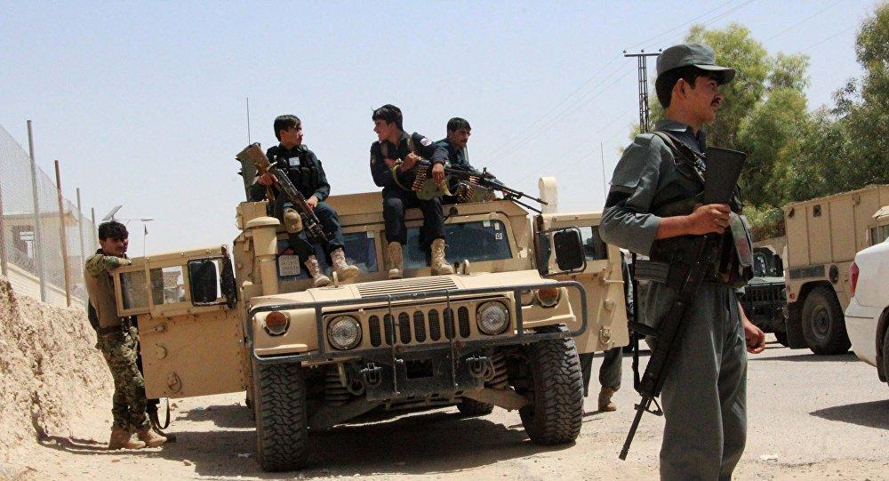阿富汗特種部隊救出三十幾名被塔利班扣押的俘虜