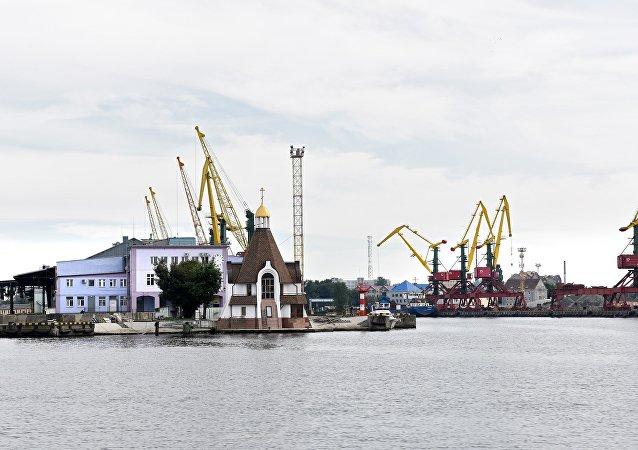 俄加里宁格勒州皮奥涅尔斯基市开始建设国际海运港口