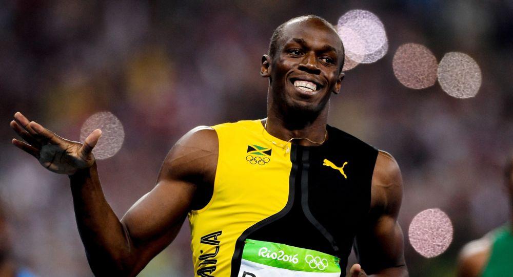 牙買加短跑運動員博爾特