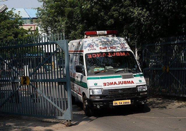 一名女孩在印度安全技术演习中死亡