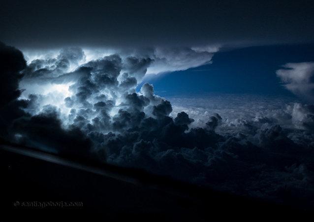 """美国家飓风中心:古巴境内形成热带风暴""""菲利普"""""""