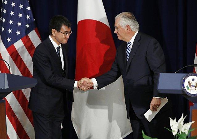 日本外相或于3月中访问美国讨论朝鲜问题