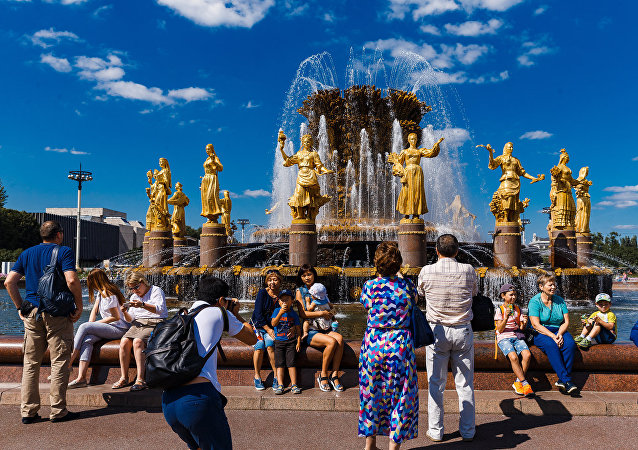 2018年訪俄外國公民增加1.6%