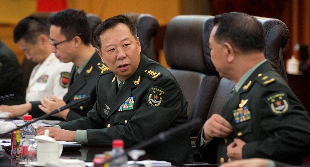 中共陸軍司令李作成(資料圖片)