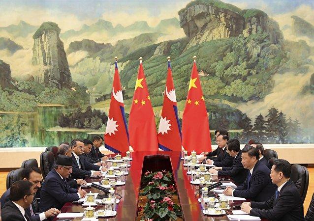 中国加大尼泊尔筹码角逐南亚影响力