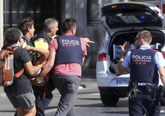 巴塞羅那恐襲事件