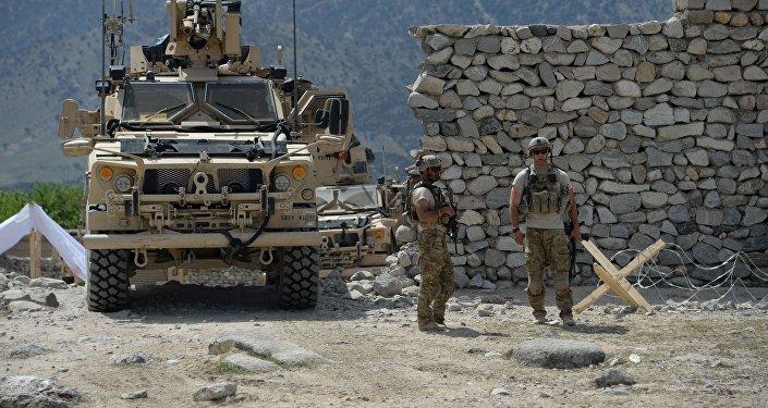 美國保持在阿富汗的存在旨在影響俄中