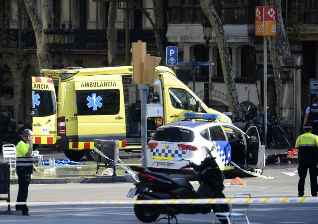 巴塞羅那恐怖襲擊事件