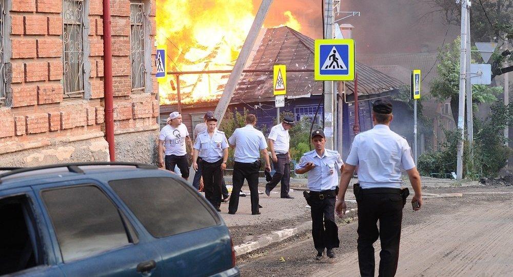 六架直升机俄西南城市参与灭火 另有两架飞机将赶赴现场