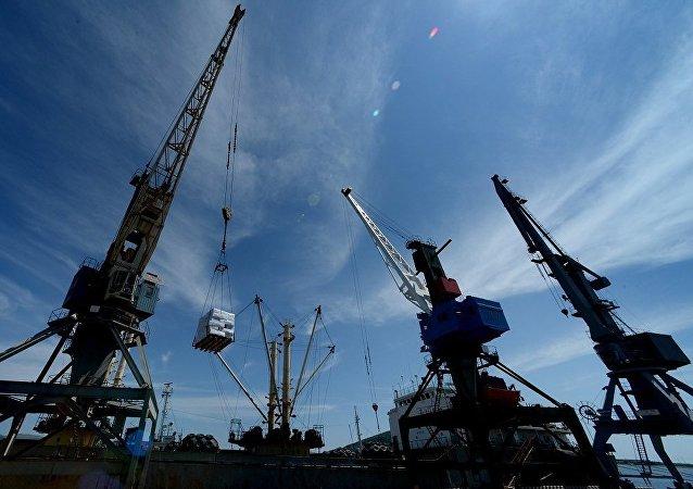 中國港灣工程公司與俄濱海邊疆開發公司簽署戰略合作協議