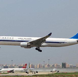 中国南方航空公司的空客