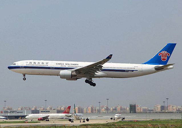 中國南方航空公司的空客330-300客機