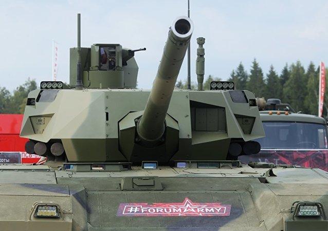 俄羅斯新型坦克T-14阿爾瑪塔