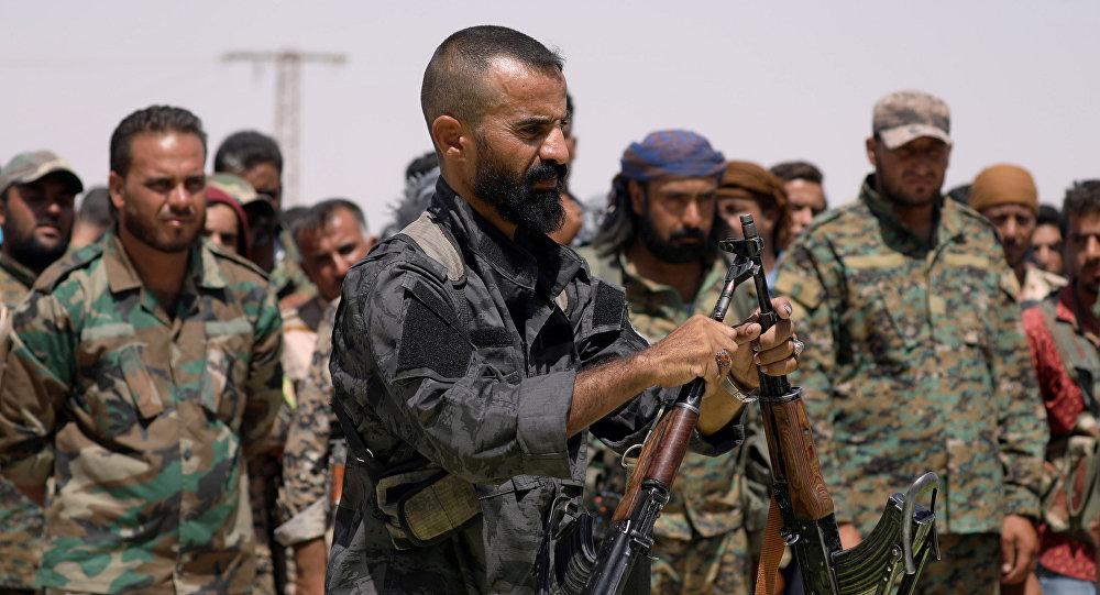 叙利亚民主力量(资料图片)