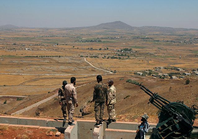 自由叙利亚军士兵