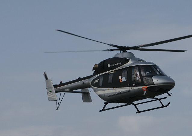 俄直升機公司2018年將在中墨對安薩特和米-171A2直升機開展認證工作