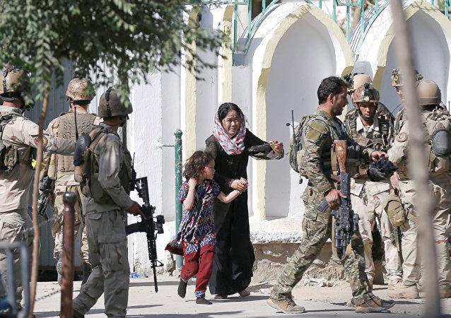喀布爾清真寺襲擊事件