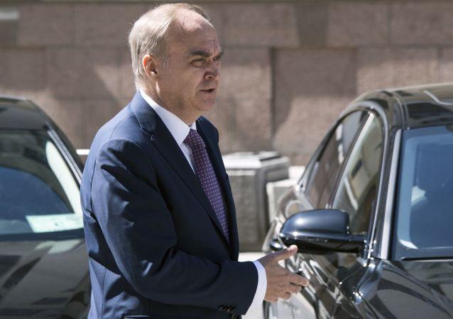 俄驻美大使:俄美军事部门加强沟通符合双方利益