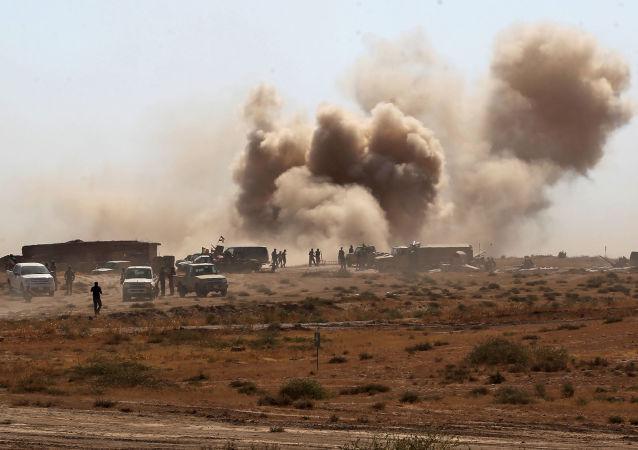 俄国防部:美主导国际联军大幅削减对伊拉克境内恐怖分子打击力度