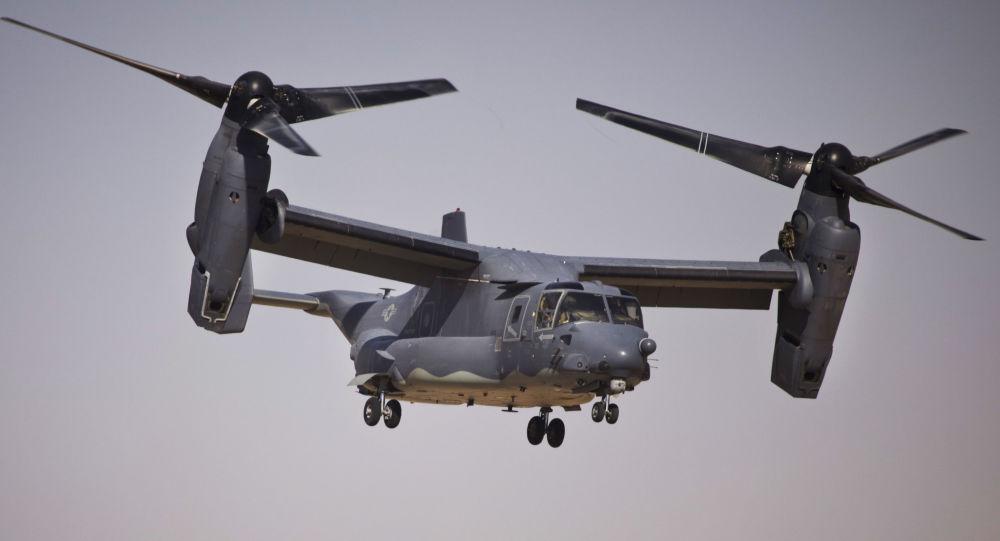 美国一架垂直期起降飞机