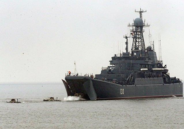 俄波罗的海舰队编队2019年将访问10个国家