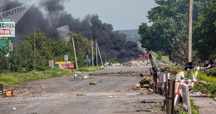 顿涅茨克人民共和国:乌军一昼夜在顿巴斯破坏停火7次
