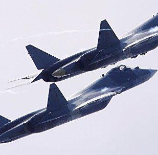 苏-57战机