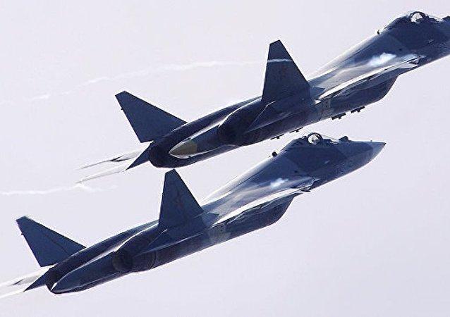 《國家利益》雜誌:美國認為俄蘇-57戰機有一張藏在袖子里的王牌