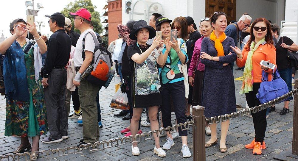 中国游客被告知在俄罗斯的八个要遵守的行为准则
