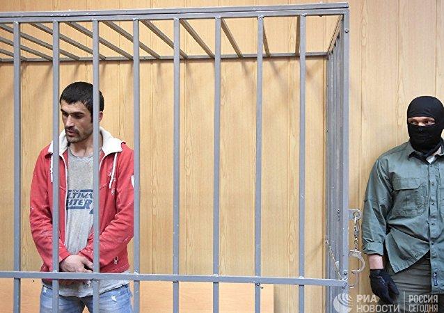 一名中亚人在法庭上承认策划9月1日在莫斯科实施恐袭