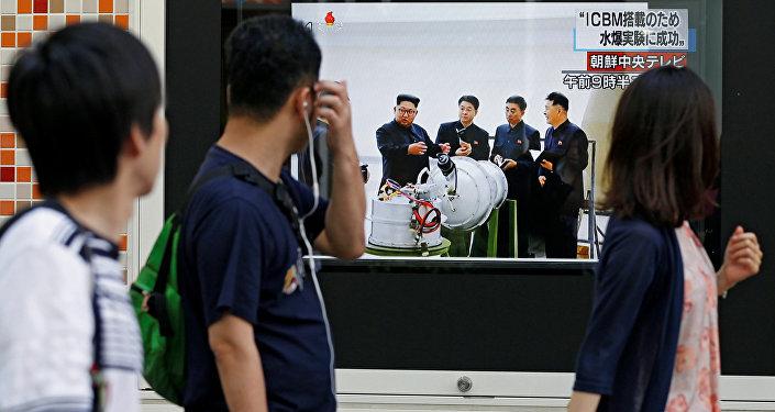 日政府不排除朝鲜试验氢弹的可能性