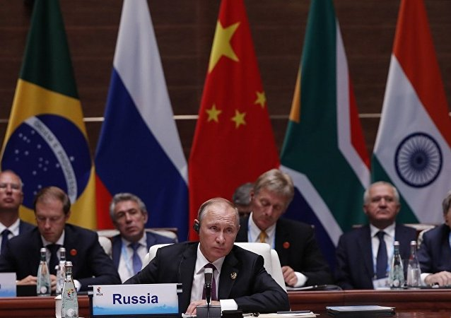俄罗斯总统普京参加厦门金砖国家峰会
