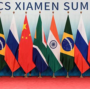 金砖国家领导人与会晤受邀国的会谈在厦门开始