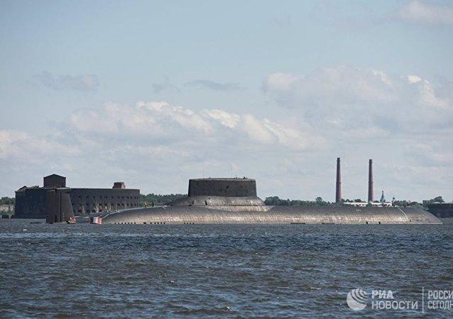 """世界最大核潜艇""""德米特里·顿斯科伊""""号已完成3个月航行"""