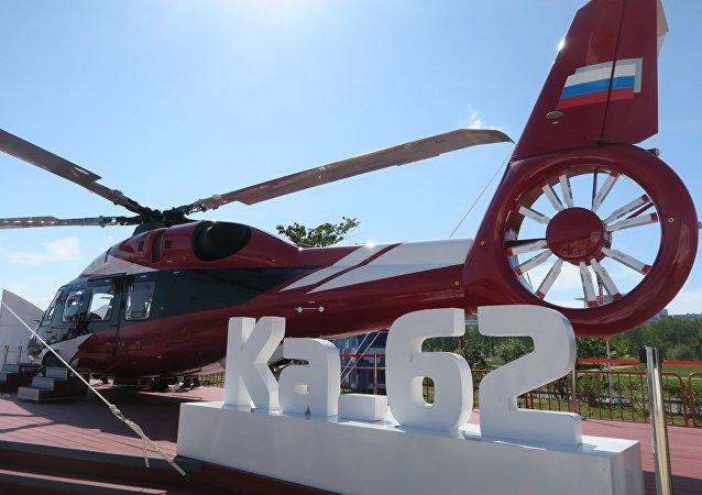 """俄""""进步""""航空公司:卡-62直升机的全球需求量约为400架"""