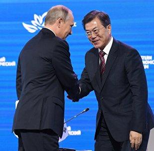 韓總統稱普京體內有阿穆爾虎之魂