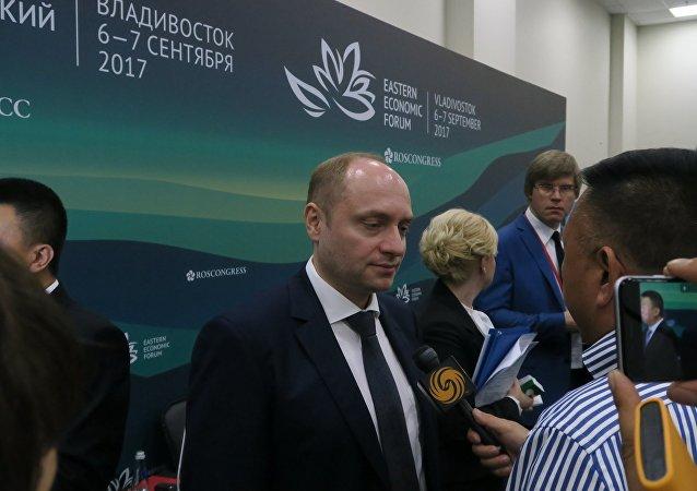 俄罗斯远东发展部长加卢什卡