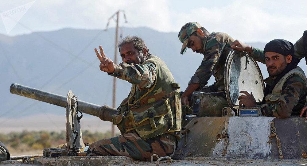 俄国防部:约92.6%叙国土从伊斯兰国武装分子手中解放出来