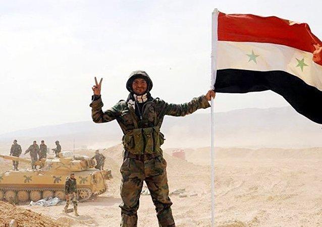 敘利亞軍突破代爾祖爾空軍基地封鎖