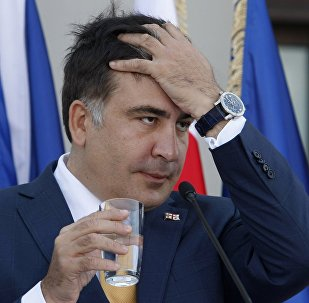 格鲁吉亚前总统萨卡什维利正被带往基辅机场 似欲将其遣往华沙