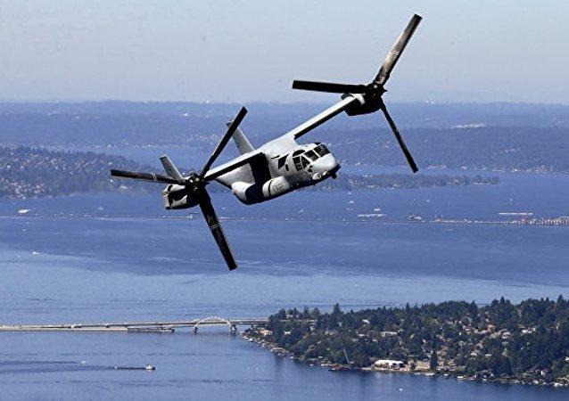 日本南部發現疑似美軍「魚鷹」傾轉旋翼機殘骸