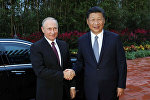 俄羅斯總統普京和中國國家主席習近平