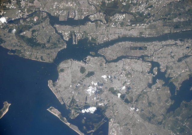 NASA astronaut Randy Bresnik photographed the New York City area from the International Space Station