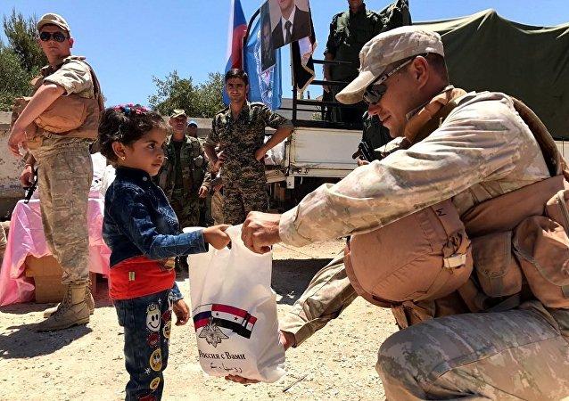 俄驻叙协调中心3个月内向4.6万阿勒颇民众提供医疗援助