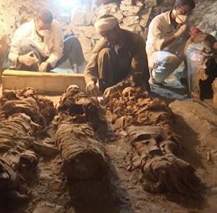 埃及考古学家发现3500年前古墓