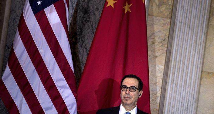 美国财长姆努钦:中美贸易协议90%已就绪