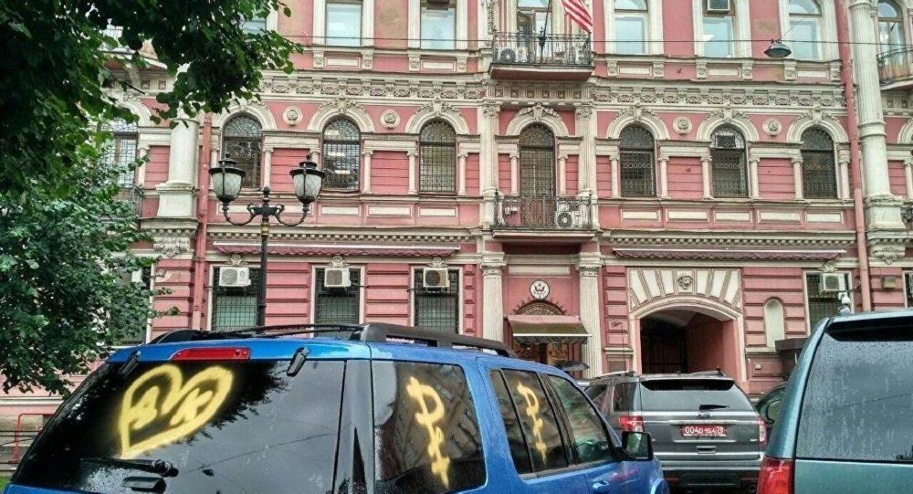 美駐聖彼得堡俄領館(圖片資料)