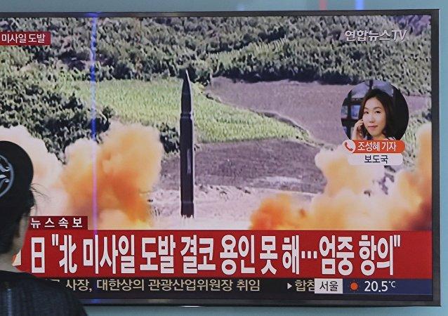 專家:朝鮮發射導彈以增加自身籌碼和美國進行博弈